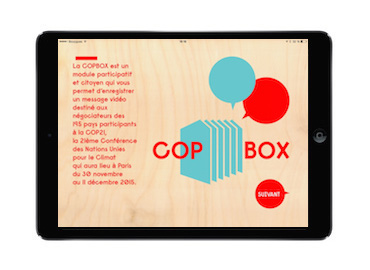 Application iPad COP21 COPBox