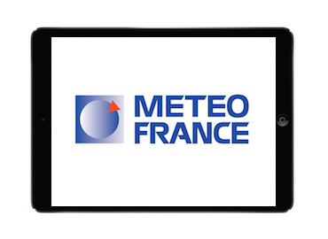 Application iPhone Météo France